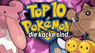 Top 10 - Pokémon, die ziemlich kacke sind! | MythosOfGaming