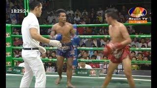 Kun Khmer Fight: មាស សារ៉ាក់ Vs ឈៀន រស្មី, 24/March/2019, BayonTV Boxing | KhmerBoxing Highlights