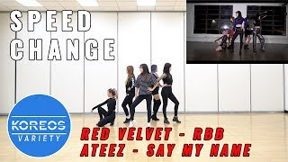 [Koreos Variety] EP56 Rollercoaster Red Velvet RBB + No Arms ATEEZ Say My Name