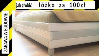 Jak zrobić łóżko za 100zł