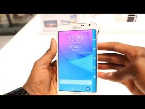 Samsung Galaxy Note Edge Hands-On Review!