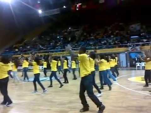 AFROBASKET U16: Flash Mob by TELMA Madagascar 19/07/2015