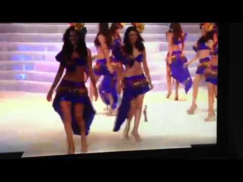 Apertura de certamen Miss Nicaragua 2013
