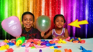 Learn Colors with Balloon for Toddlers | Learn Color & Baby Game Show