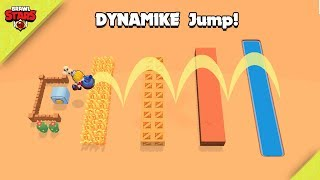 SUPER DYNAMIKE JUMP! 🧨 Funny Moments, Fails and Glitches Brawl Stars 2019 [p1]