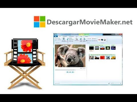 Movie Maker para todo los windows descarga e instalar