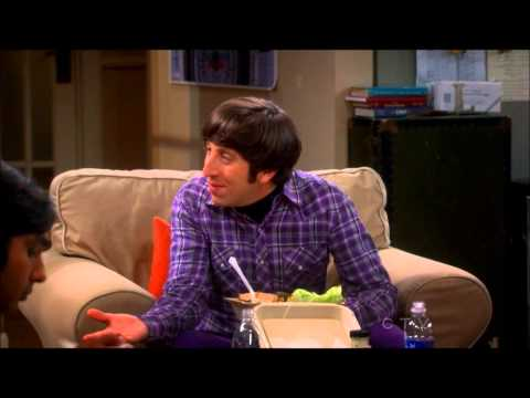 The Big Bang Theory - Raj and Howard - Accents