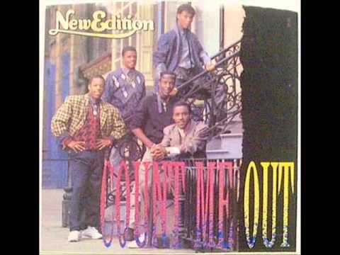 New edition lyrics to can you stand the rain