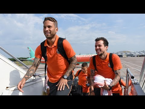 Shakhtar arrived in Germany for a training camp