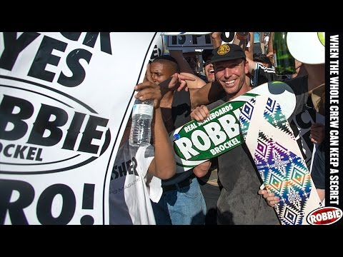 Robbie Brockel's Pro Surprise