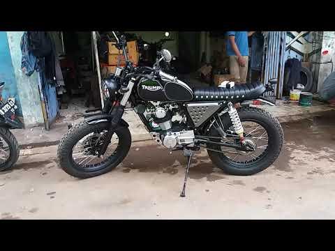Bengkel Modifikasi Motor KUSTOM di Purwokerto by Wijaya Retro Classic hp 082242461234