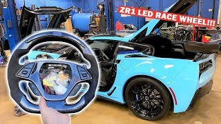 CANCELLING My C8 Order to Wait for C8 Z06??? Ft. 1,000HP ZR1 LED Race Wheel Install!!!