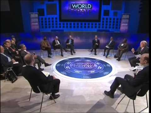 Davos Annual Meeting 2008 - BBC World Debate Davos
