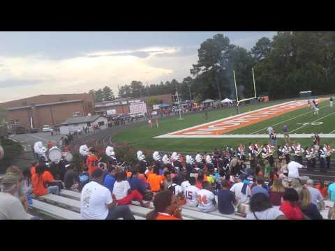 North Cobb High School Band Entrance 9/12/14