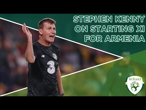 #IRLU21 INTERVIEW | Stephen Kenny on starting XI ahead of Armenia tie