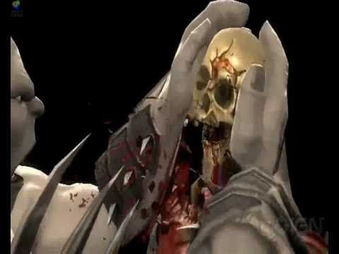 Mortal Kombat 2011 - Goro's X-ray Move video