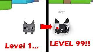 THE MOST OVERPOWERED PET IN ROBLOX?! (30000+ LEVEL) | Roblox Pet Simulator Minigame