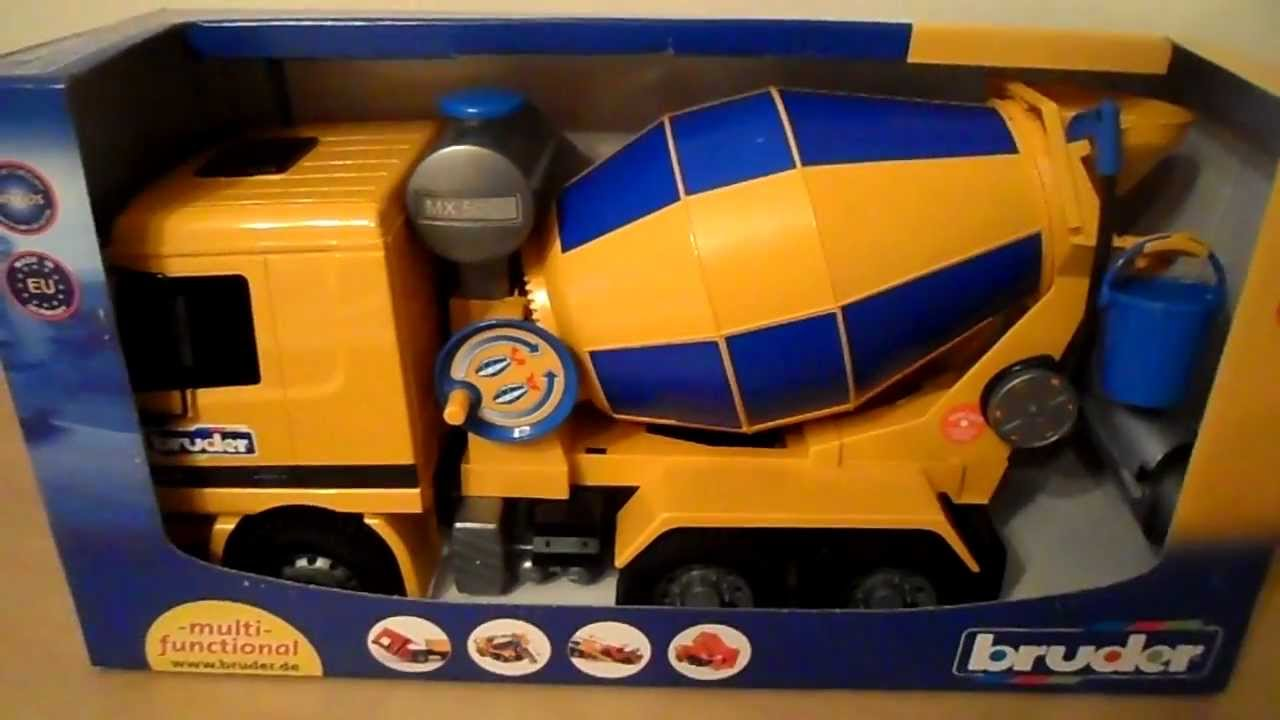 Orange Cement Mixer Toys Cement Mixer Model