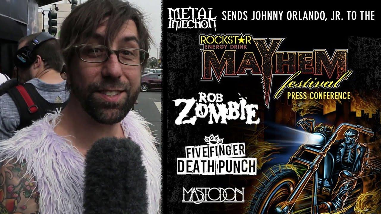 Mayhem Fest 2012 Mayhem Fest 2013 Press