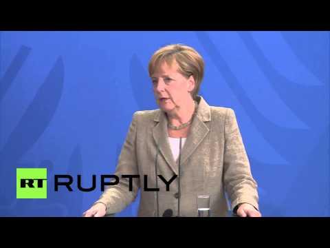 "Germany: Merkel blasts ""spying on allies,"" says it lacks ""common sense"""