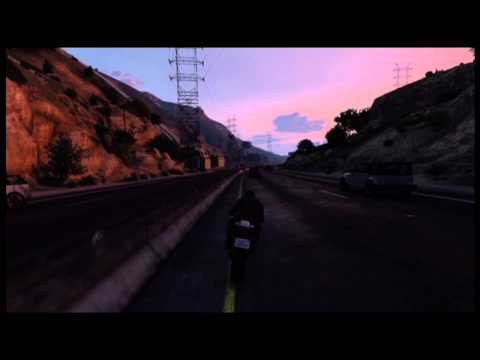 Racing the Sun - GTA V