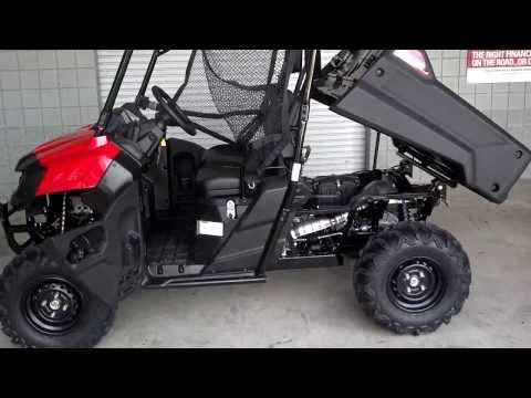 Honda Pioneer 700 SxS / UTV / Side by Side ATV 4x4 Video Review of Specs - SXS700 - Chattanooga TN