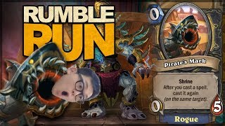 RUMBLE RUN OUT!! The Warrior Shrine is OP