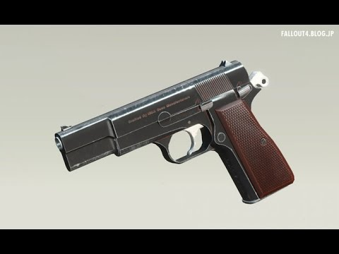 fallout4 MOD Review - 9mm Pistol by DeadPool2099
