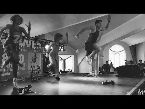 Bomba Estéreo - Soy Yo (remix) - Zumba toning by Claudiu Gutu