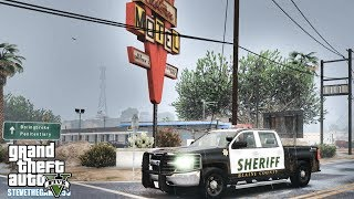 GTA 5 MODS LSPDFR 0.4.1 - SILVERADO PATROL!!! (GTA 5 REAL LIFE PC MOD)