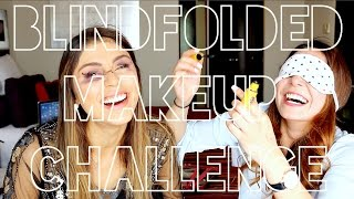 BLINDFOLDED MAKEUP CHALLENGE! (PAUTIPS)