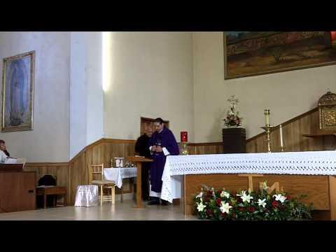 Misa Católica 20 Febrero 2013 - Lecturas y Homilía  - ecatolico.com