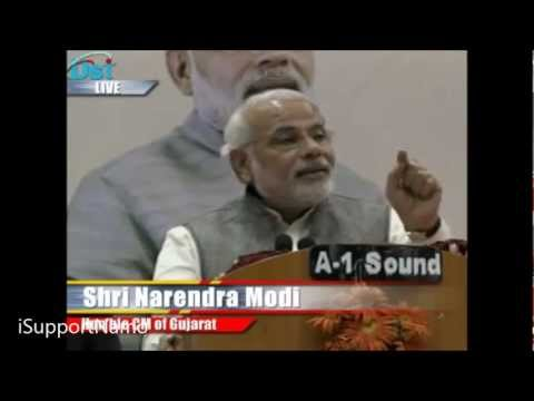 Narendra Modi  Hits Back at Congress for 1880 Cr. Rs Used for Sonia Gandhi