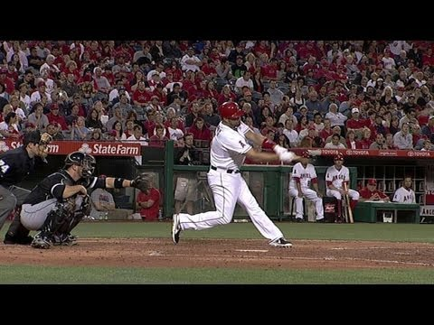 CWS@LAA: Pujols cranks a two-run shot in the fourth