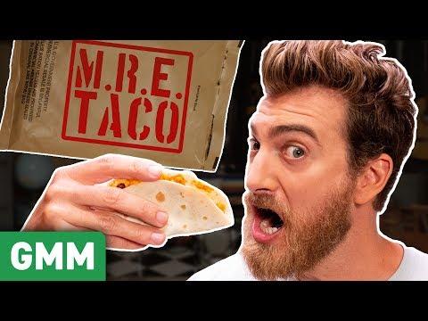 Ultimate MRE Taste Test