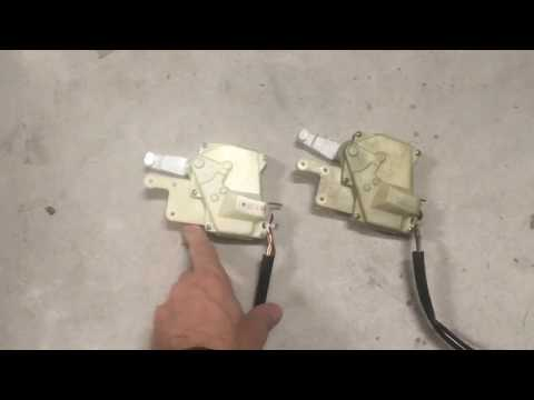 how to replace honda odyssey sliding door lock actuator how to save money and do it yourself. Black Bedroom Furniture Sets. Home Design Ideas