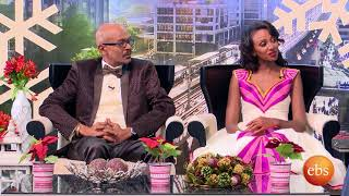EBS Special Gena Show:  Interview with Artist and Journalist Ayalkebet Teshome