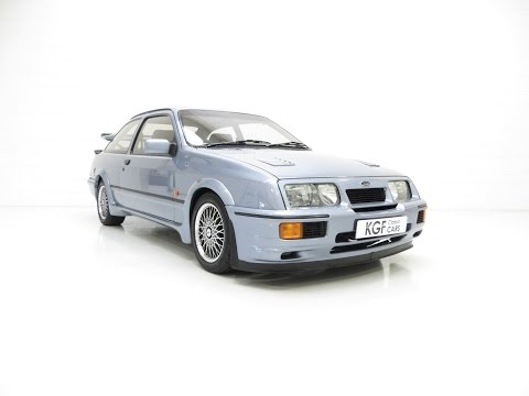 One of 52 Moonstone Blue Ford Sierra RS500 Cosworth's with 39,068 Miles