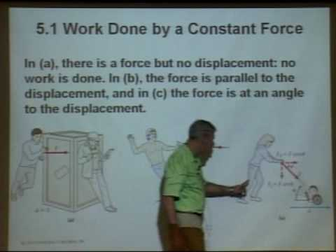 Physics 210 - Lecture 12 - Work, Energy, Conservation of Energy, Hooke's Law