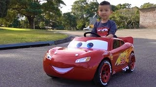 Park Drive With Disney Pixar Cars 3 Lightning McQueen Electric Ride On Ckn Toys