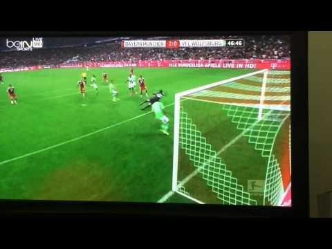 Bayern Munich vs VFL Wolfsburg 2-1 all the goals HD 2014