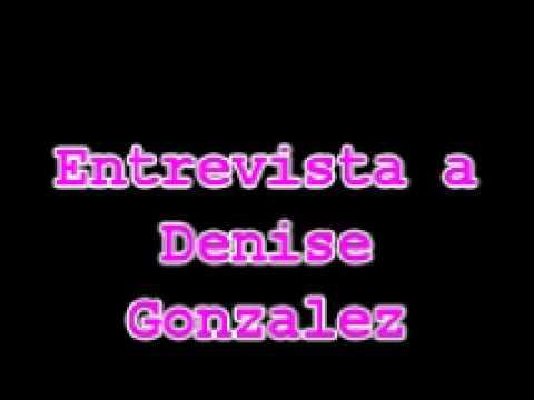 Entrevista a Denise Gonzalez