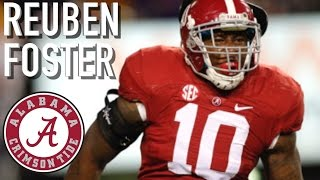 Reuben Foster  Hardest Hitter In NATION  Alabama Highlights