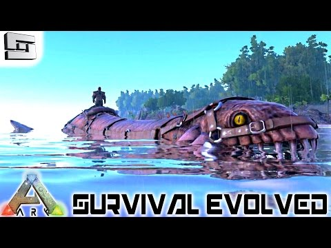 ARK: Survival Evolved - TAMING A PLESIOSAUR! E23 ( Plesiosau