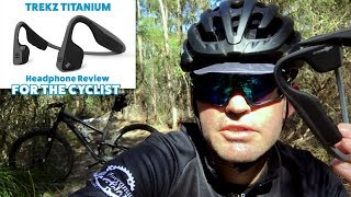 Aftershockz Trekz Titanium Headphone Review (cyclists view)