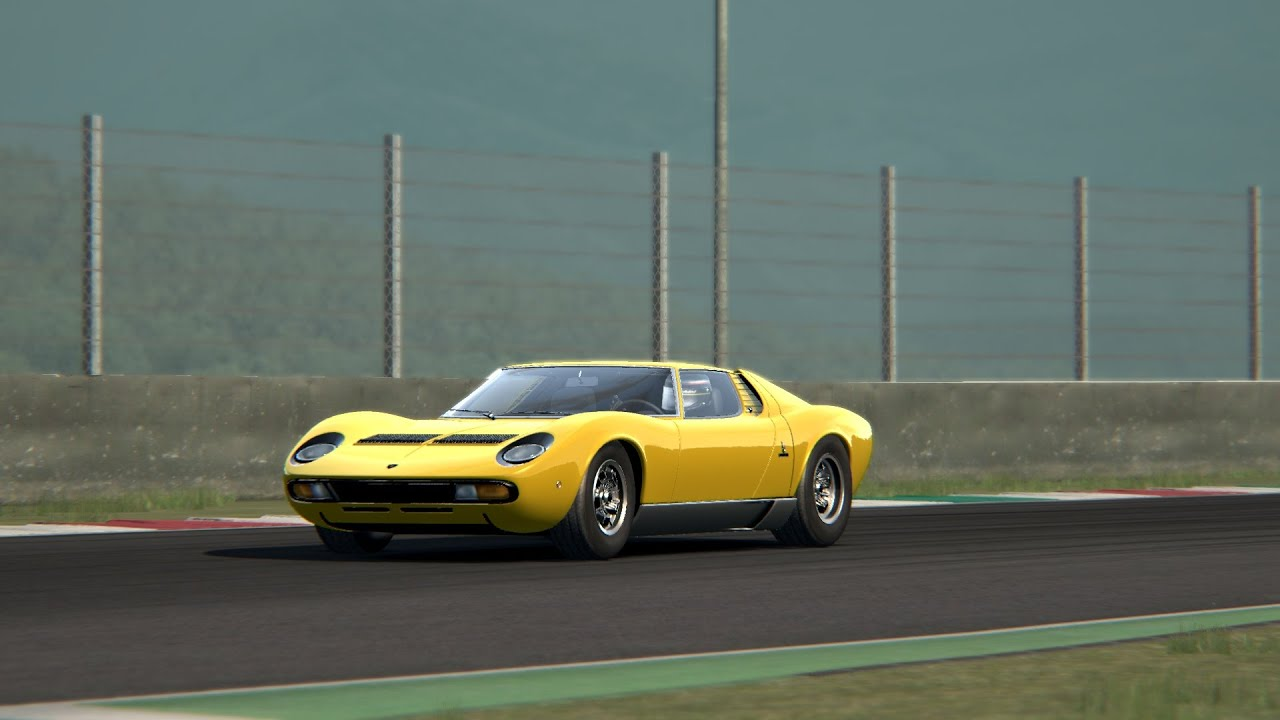 assetto corsa mod lamborghini miura youtube. Black Bedroom Furniture Sets. Home Design Ideas
