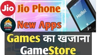 Jio phone new update today    jio phone new apps available    games store