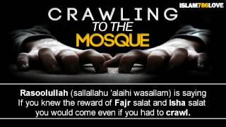 Crawling To The Masjid ᴴᴰ || Sheikh Omar Elbanna