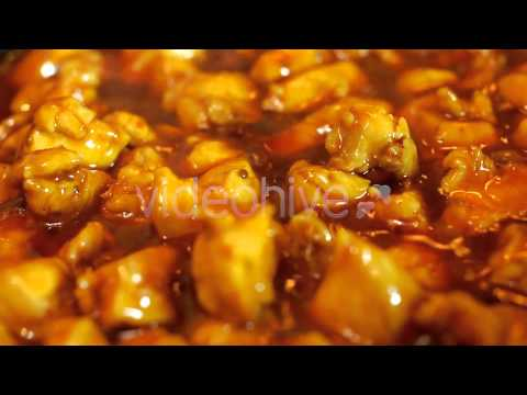Stock Footage - Asian Chicken Recipe | VideoHive