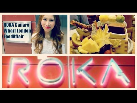 ROKA Canary Wharf  London | FoodAffair